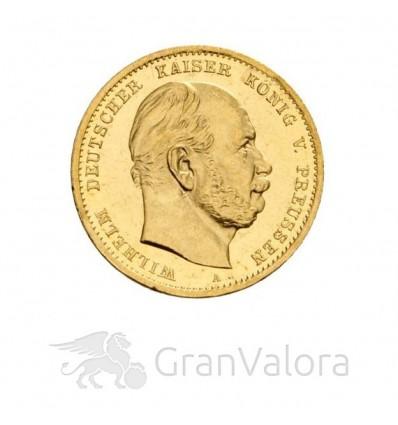 Deutsches Kaiserreich 10 Mark Wilhelm I