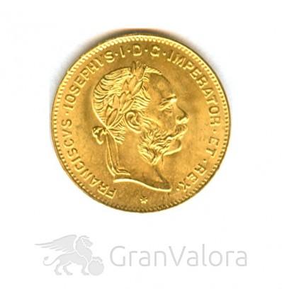4 Florin / 10 Franken Goldmünze Österreich