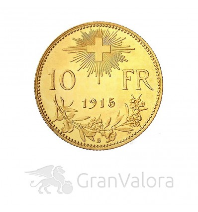 10 Schweizer Franken Vreneli