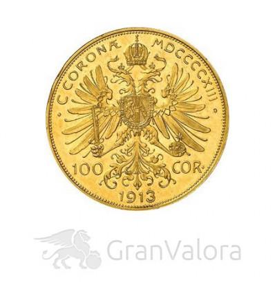 100 Kronen Goldmünze Österreich