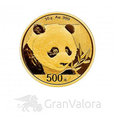 30 g Gold China Panda 2018