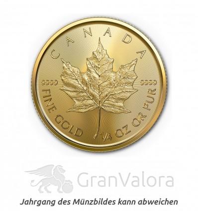 1/4 oz Gold Maple Leaf