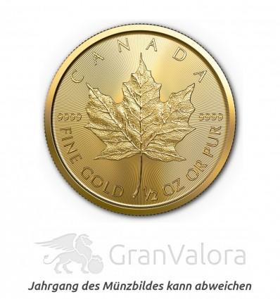 1/2 oz Gold Maple Leaf