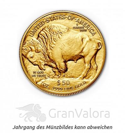1 oz Gold Buffalo