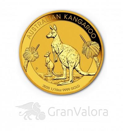 1/10 oz Gold Känguru (Nugget) 2020