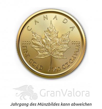 1/10 oz Gold Maple Leaf