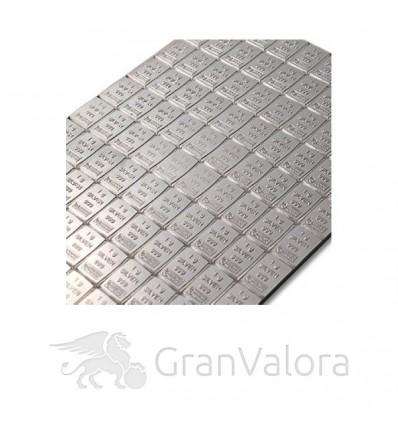 100 x 1g Silber Tafelbarren (Münztafel)
