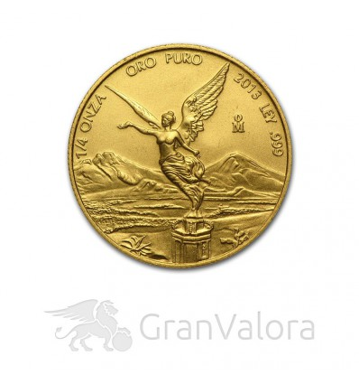 1/4 oz Gold Mexiko Libertad