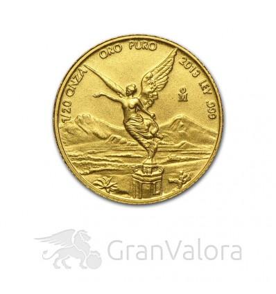 1/20 oz Gold Mexiko Libertad