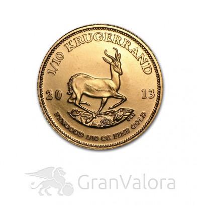 1/10 oz Gold Krügerrand