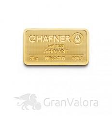 20 g Goldbarren C. Hafner