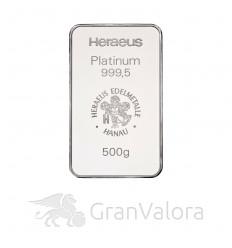 500 g Platinbarren